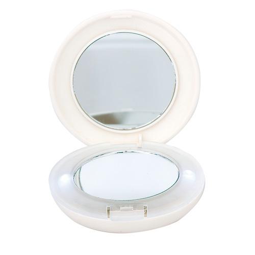 Novedad 2014 espejo de bolso o tocador con luz led for Espejo tocador con luces